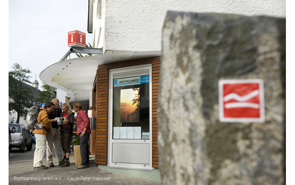 Tourist-Information Brilon direkt am Rothaarsteig